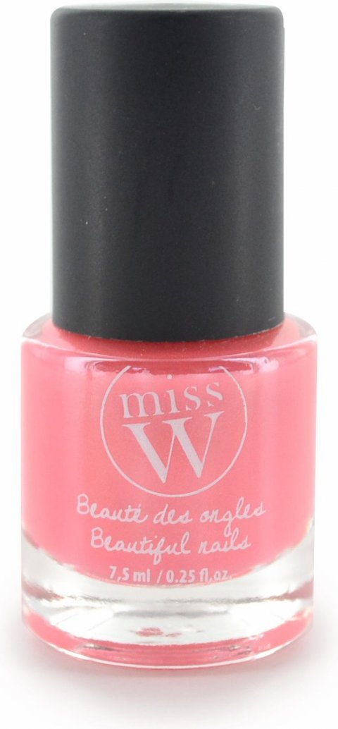 Miss W Lak na nehty No 07 - Pearly coral