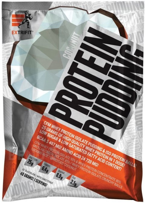 Protein Pudding 40 g coconut, Extrifit