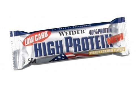 WEIDER Low Carb High Protein  red fruits tyčinka 50 g