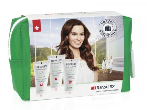 Revalid TRAVEL SET Shampoo + Conditioner + Mask 3x30 ml