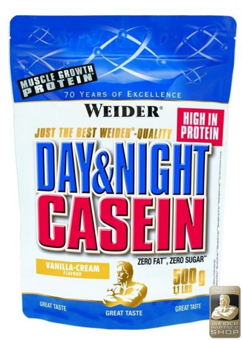 WEIDER Day&Night Casein  chocolate-cream 500 g