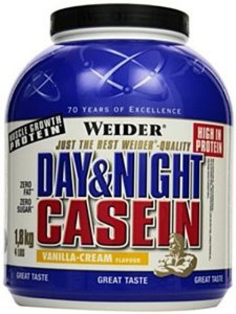WEIDER Day&Night Casein  chocolate-cream 1,8 kg