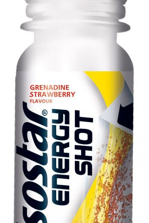 ISOSTAR Energy shot grenadina/jahoda 60ml
