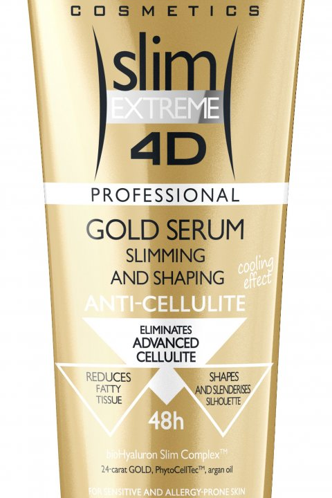 EVELINE Slim Extreme 4D Gold sérum 250ml
